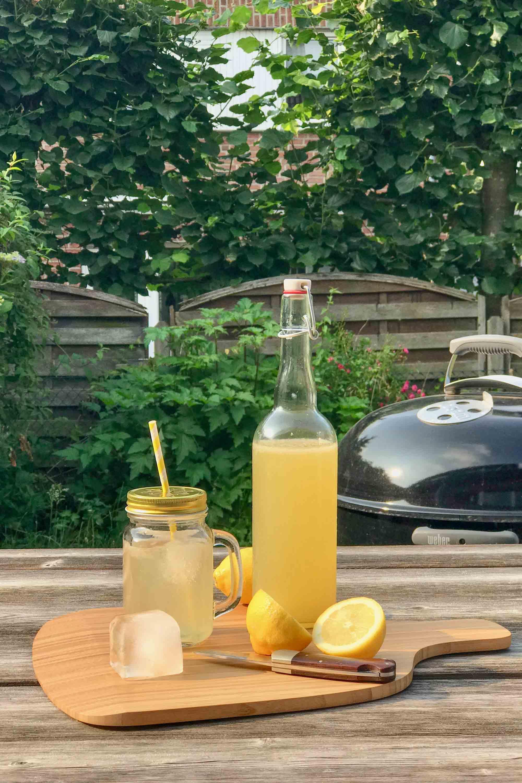 Grilled Lemonade: Zitronenlimonade vom Grill
