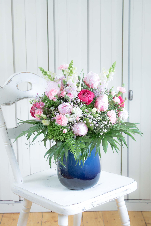 Sommerliche Blumen Dekoration Maritime Deko  Mit Pfingstrosen Villeroy Und Boch Soulsistermeetsfriends