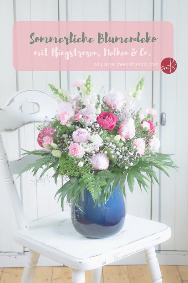 Saisonale Blumendeko: der Strauß des Monats