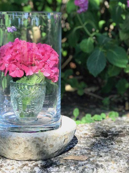 #Blumen - Deko mit Hortensien
