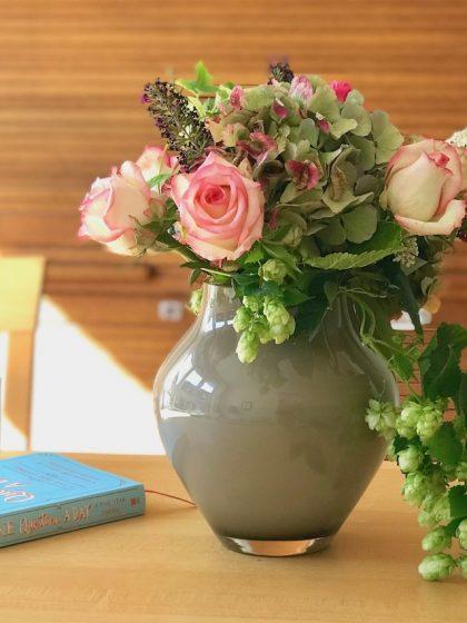 #Blumen im #Herbst: Gartenblumen und Blüten vom Händler gemixt