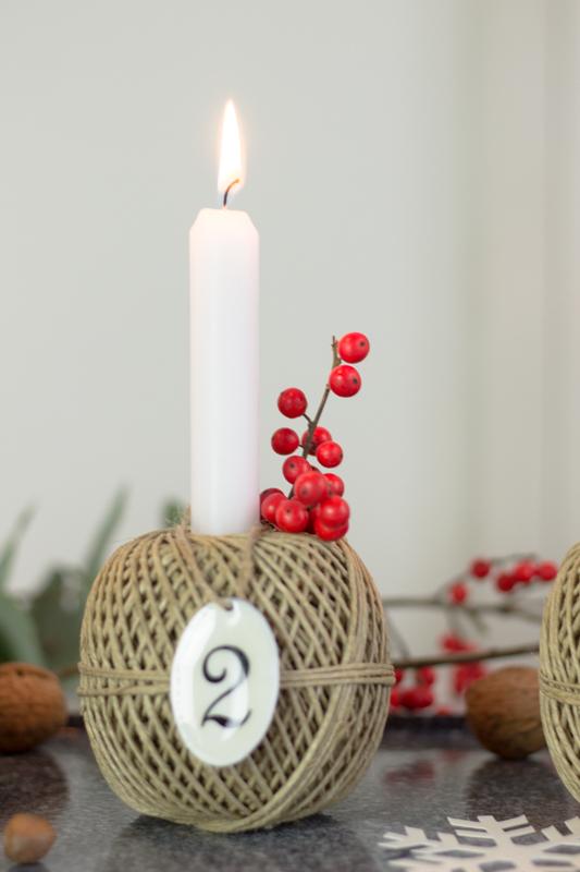 #Adventskranz im Scandi Style: schlicht, schön & mit einem Hauch nordischer Romantik.
