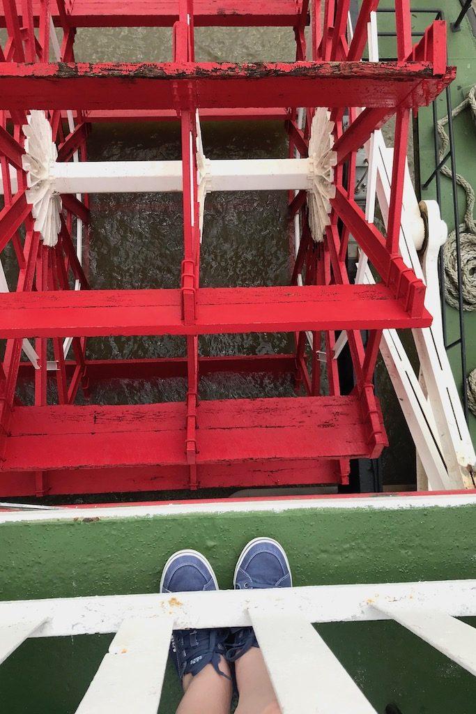 Wanderlust: eine Fahrt auf dem Mississippi mit dem Steamboat Natchez