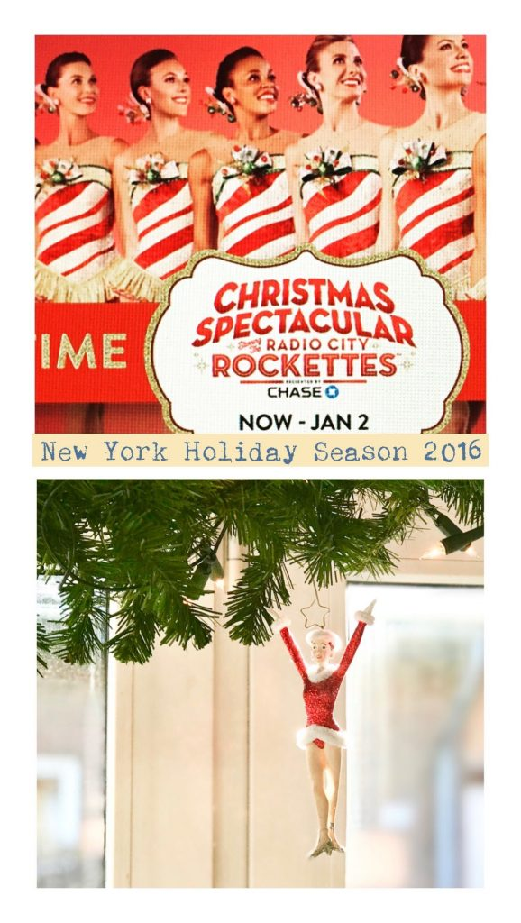 The Rockettes, Holiday Season Entertaining in New York