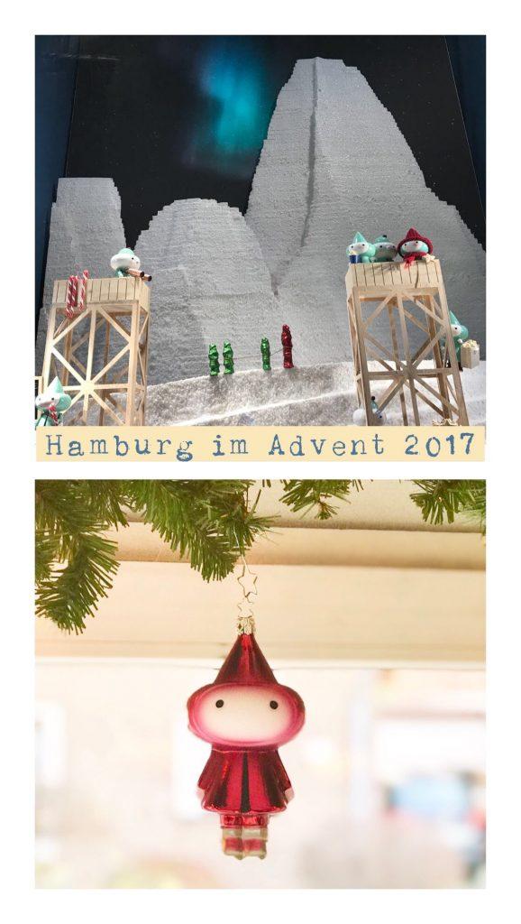 Hamburg im Advent: Weihnachtsfenster im Alsterhaus