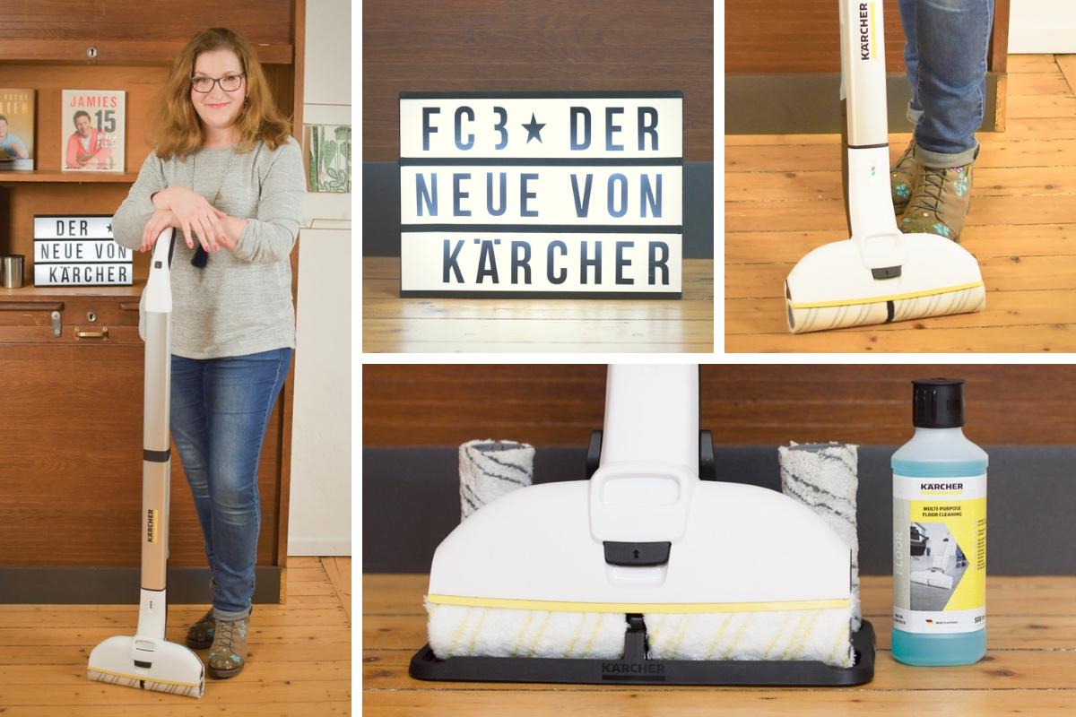 Fußboden wischen leicht gemacht: FC 3, der Neue von Kärcher