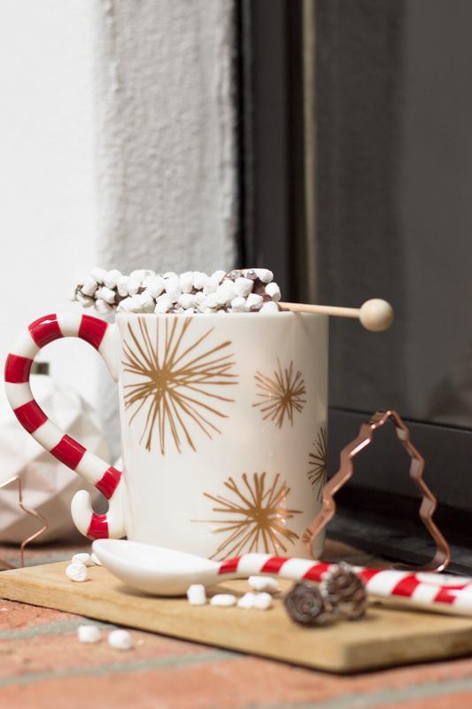 Rezepte aus der Küche: Heiße Schokolade am Stiel mit Mini-Marshmallows