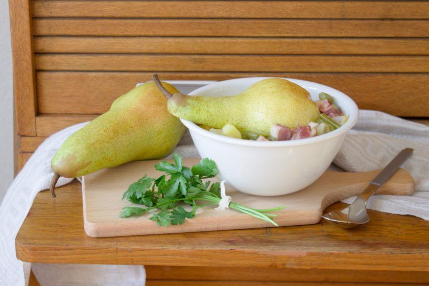 Regionale Küche: Birnen, Bohnen & Speck Eintopf