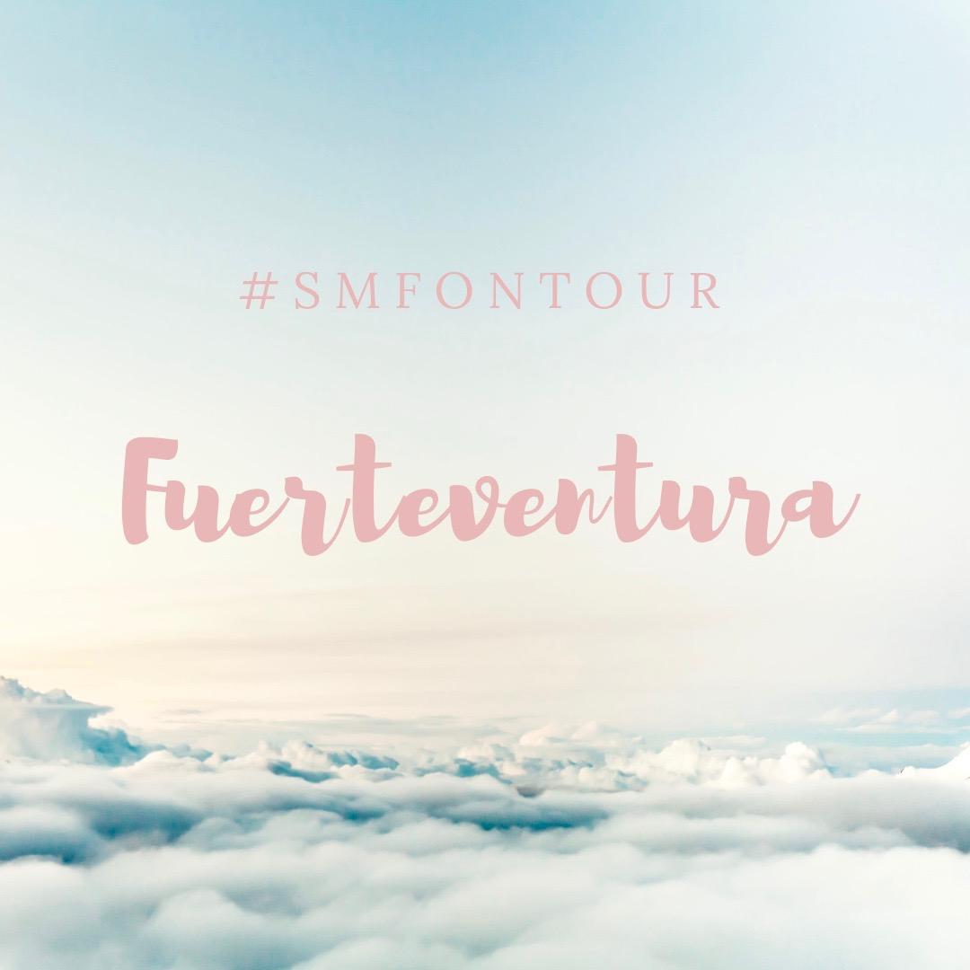 Live auf Instagram mit #smfontour: 5 Tage Sonne auf Fuerteventura