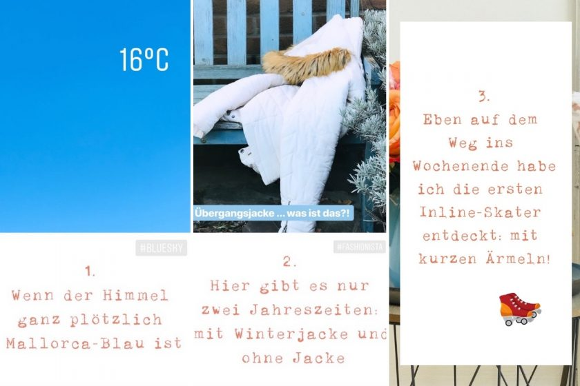 Happy Weekend: Blogparade #sonntagsglück