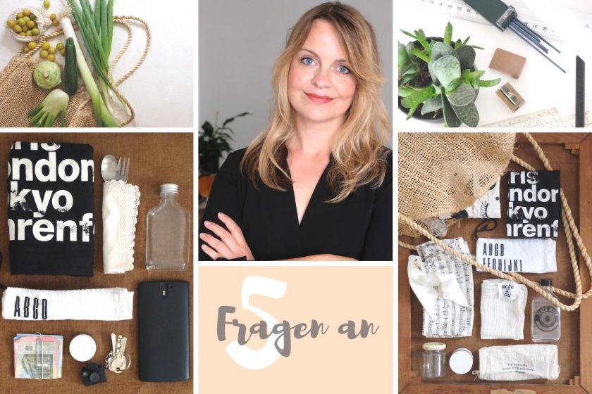 Interview: Nachhaltigkeit und zero waste. 5 Fragen an Maren Teichert @minzawillsommer