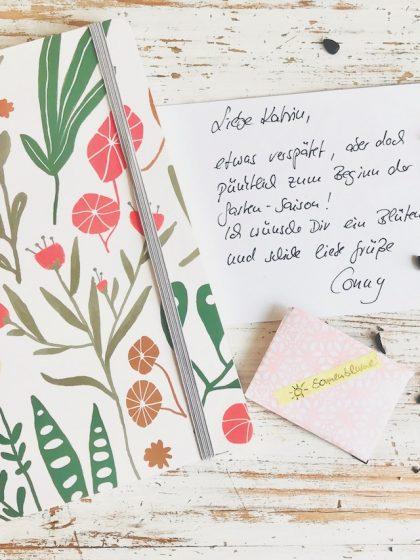 Blogparade #sonntagsglück: Blumensamen per Post