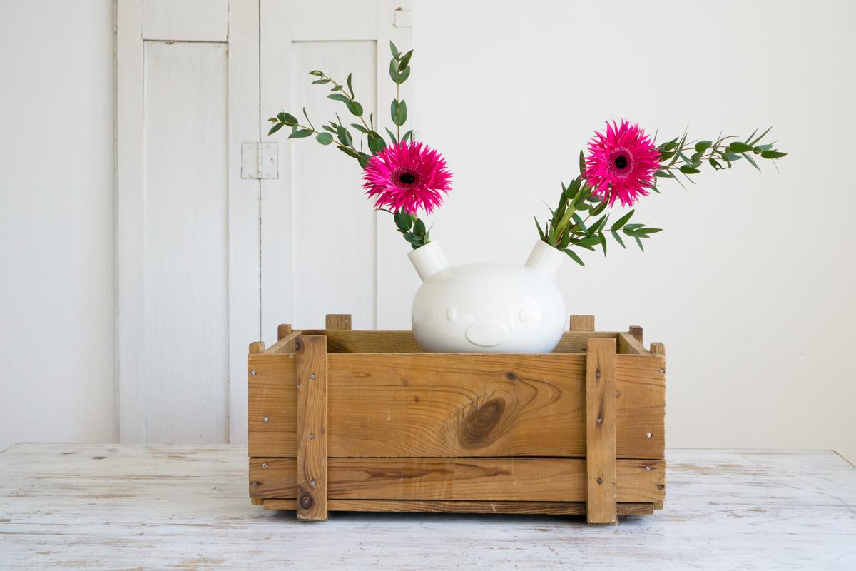Eine Designer-Vase zum Verlieben!