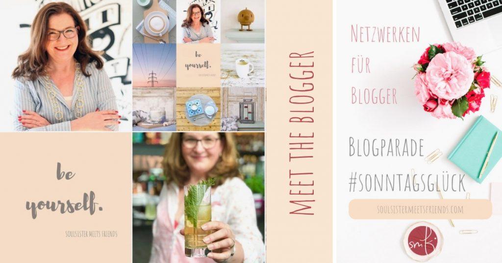 Netzwerken für Blogger: Blogparade #sonntagsglück. Das bin ich, Katrin!