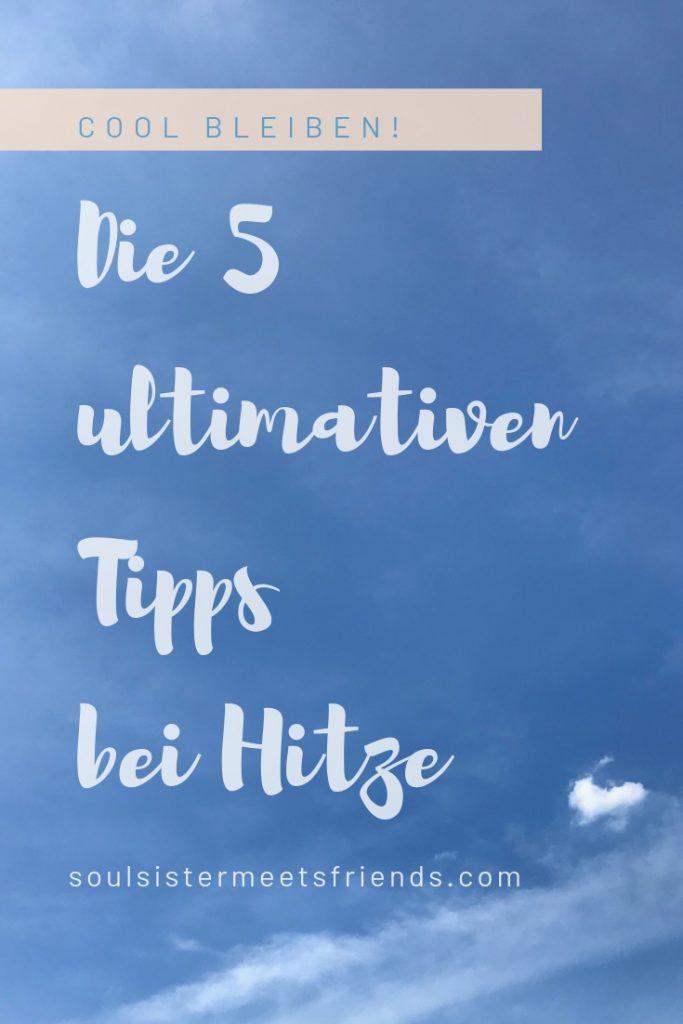 Hitzewelle in Deutschland: die 5 ultimativen Tipps gegen die Hitze