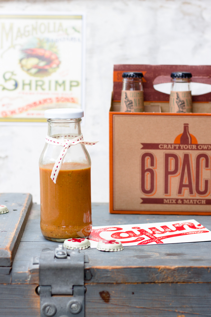 Carolina Mustard Sauce: BBQ Ketchup mit Senf-Aroma. Plus Freebie fürs Etikett