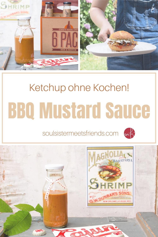 BBQ Ketchup ohne KOchen: Carolina Mustard Sauce