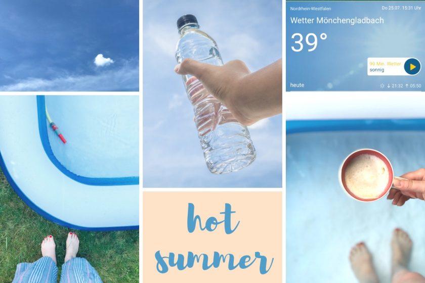Blogparade #sonntagsglück: Hot Summer & Netzwerken für Blogger