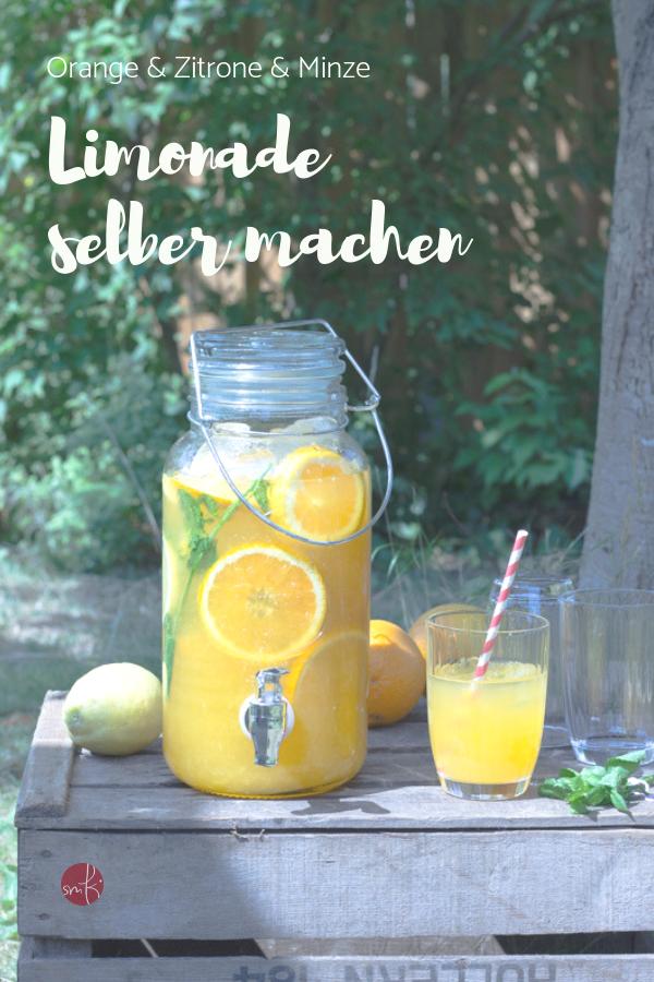 Limonade selbermachen: fruchtig frisch mit Orangen und Zitronen
