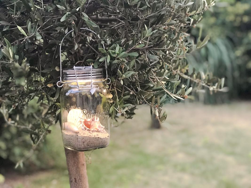 Sommer-Deko im Sonnenglas - fairtrade und nachhaltig