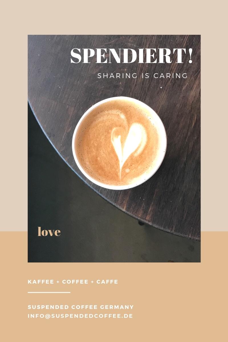Fünf Fragen an. Das Interview mit Saskia Fuchs von Suspended Coffee Germany.
