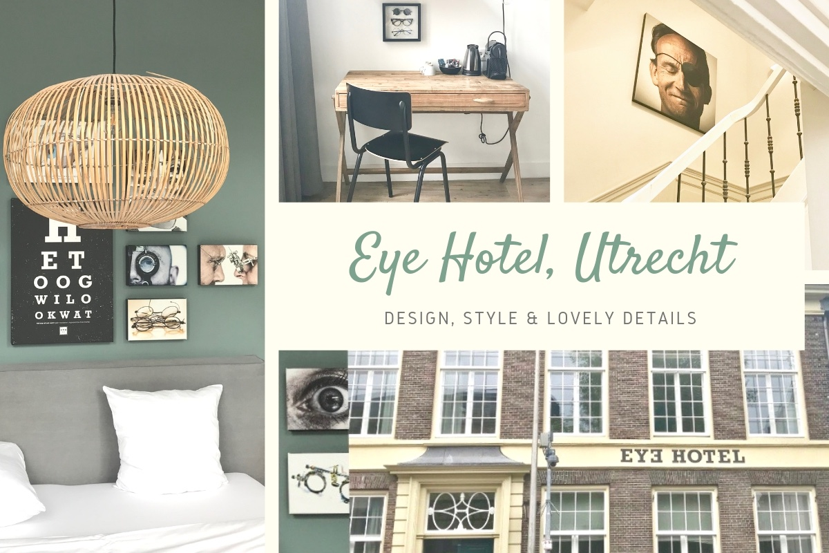Visit Utrecht: Eye Hotel – design and details.
