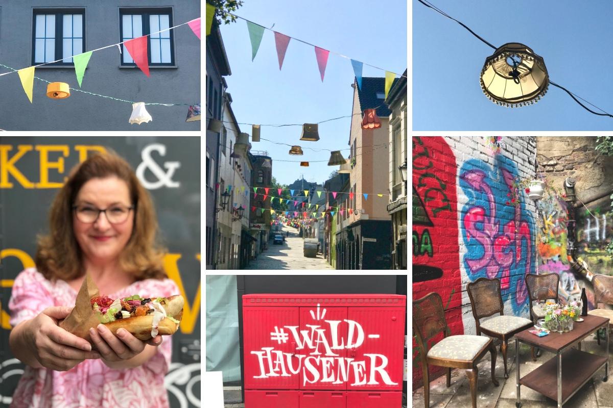 Blogparade #sonntagsglück: Sommerfest auf'm Altstadtkiez in Mönchengladbach