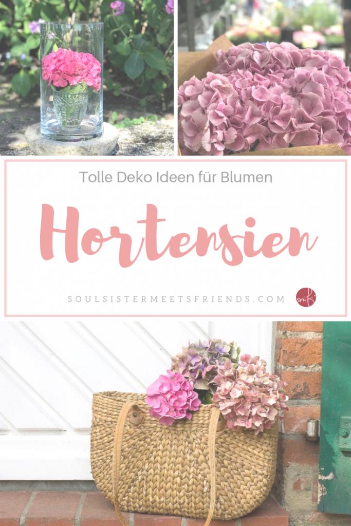 Geniale Deko-Ideen mit Hortensien