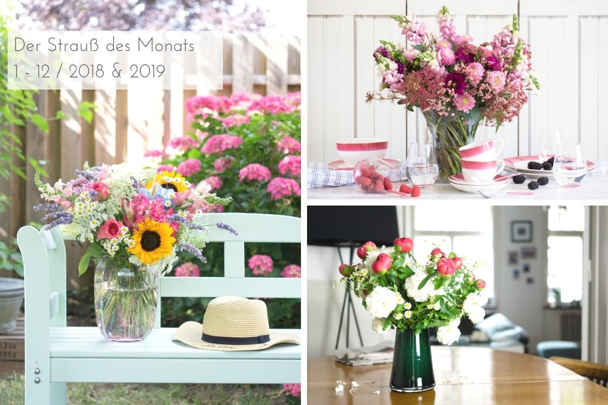 Blumendeko & Blumensträuße: der Strauß des Monats auf soulsister meets friends