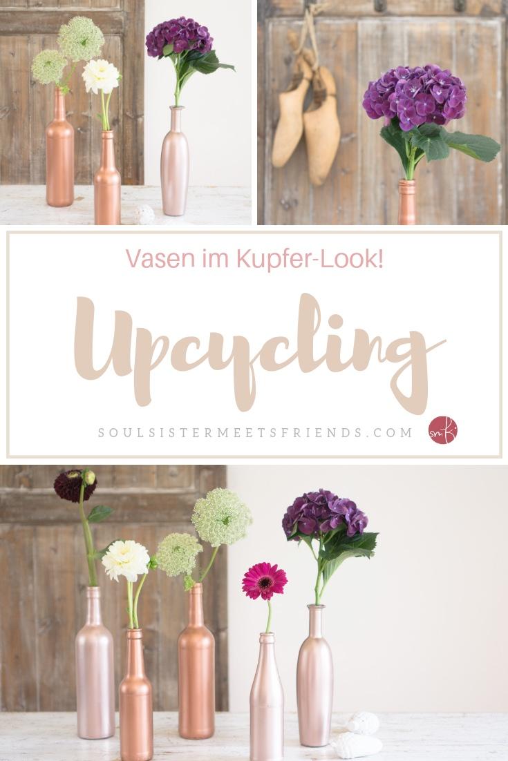 Upcycling: Tischdekoration im stylischen Kupfer-Look – einfach & nachhaltig!