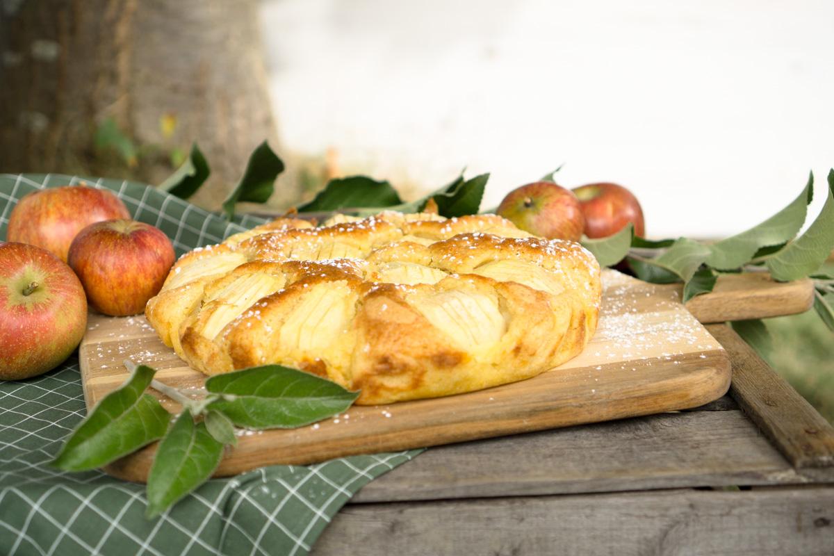 Soulfood im Herbst: Apfelkuchen Elsässer Art – saftig & lecker!