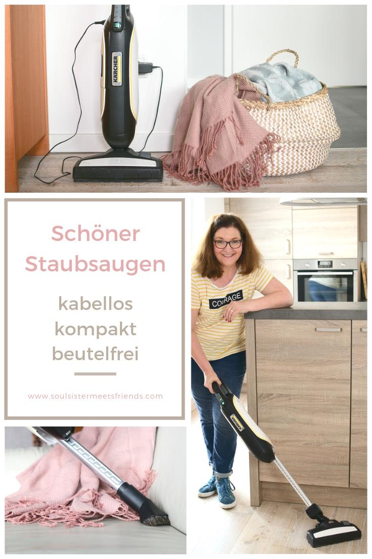 Schöner Staubsaugen mit Kärcher: kabellos, kompakt und beutelfrei!