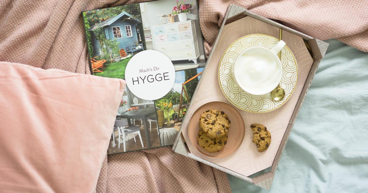 Hygge im Herbst: ein Upcycling - Tablett für mehr me time!