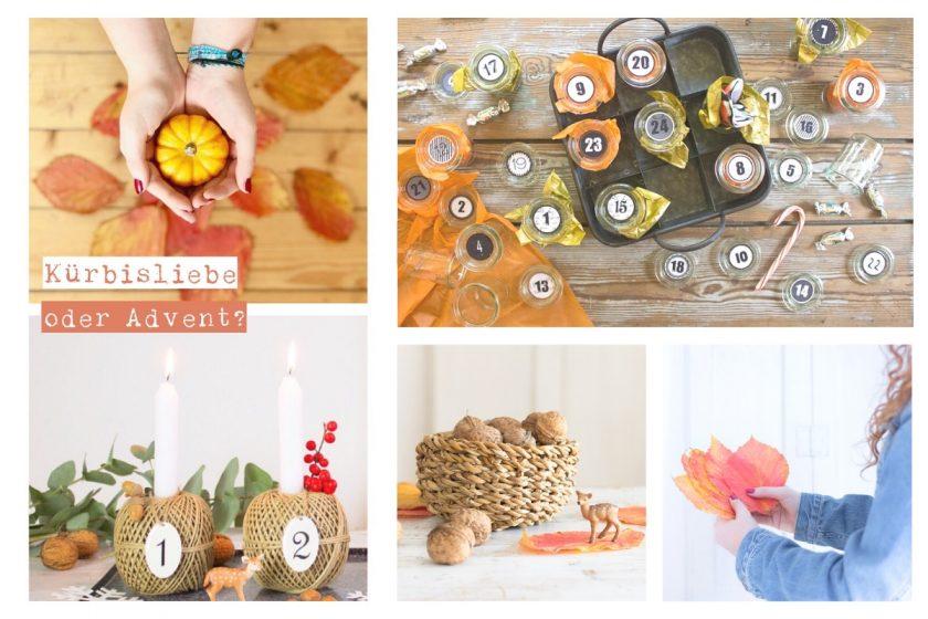 Netzwerkprojekt #sonntagsglück: noch Herbst oder schon Advent? Netzwerken für Blogger