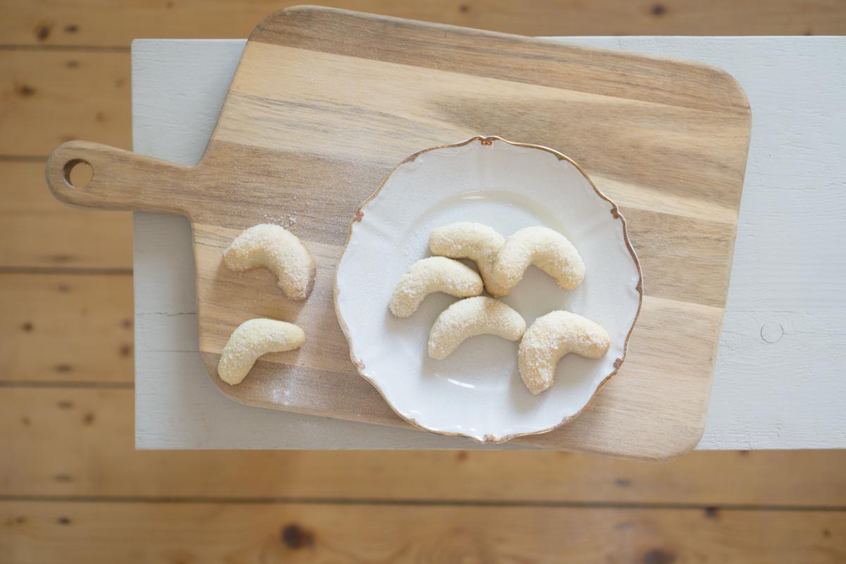 Plätzchen backen im Advent: Vanillekipferl nach Omas Rezept