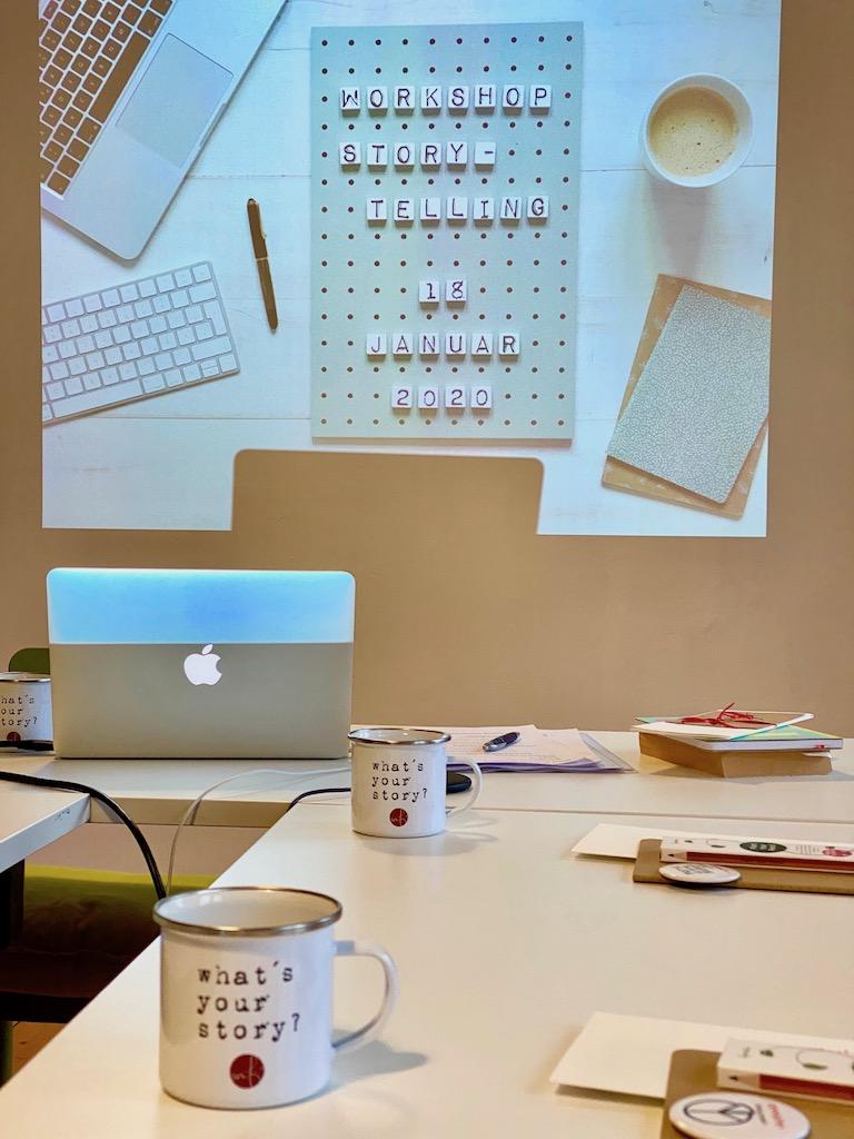 Netzwerken beim sonntagsglueck: What's your stroy? Mein Workshop für Storytelling