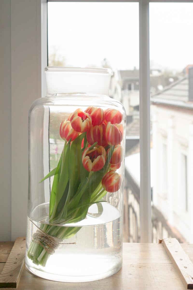 Tulpen Vintage Style – als Stillleben dekoriert