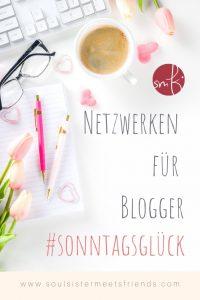 Netzwerken beim #sonntagsglück: Kleine Glücksmomente gegen die Angst!