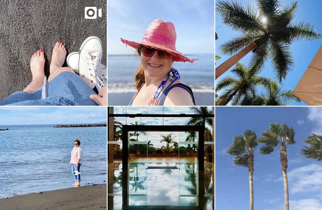Netzwerken für blogger, #sonntagsglück NO. 5: Kurzurlaub auf Teneriffa