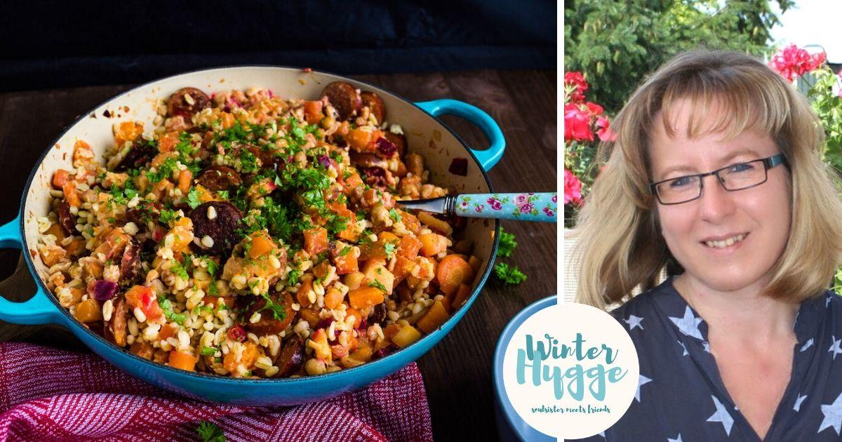 Winter Hygge: Soulfood für kalte Tage – Steckrüben Pfanne mit @sasibella