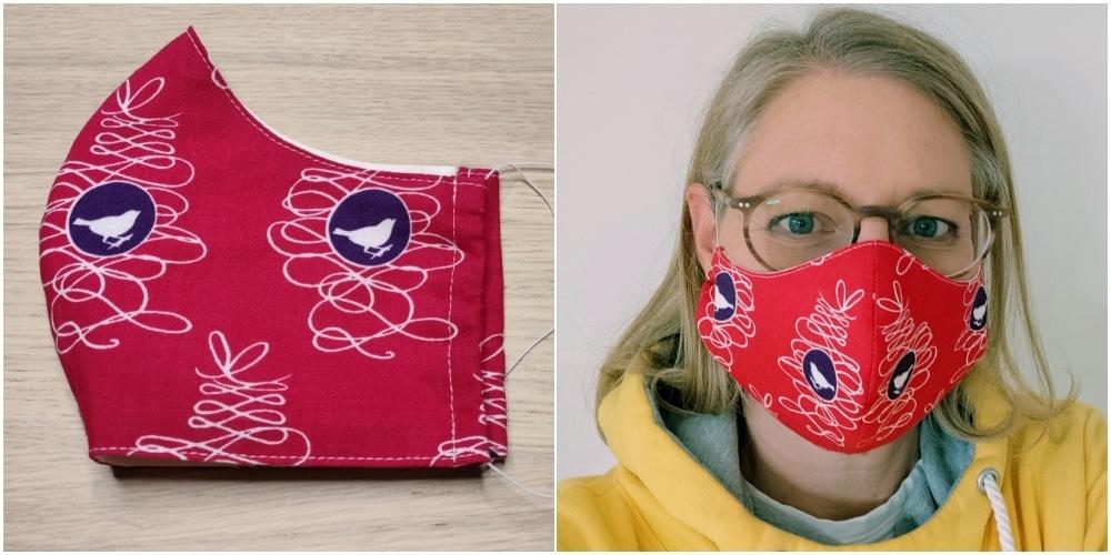 Masken nähen, schnell und einfach: 3 Anleitungen mit Download für deinen Mund-Nase-Schutz zum selbermachen