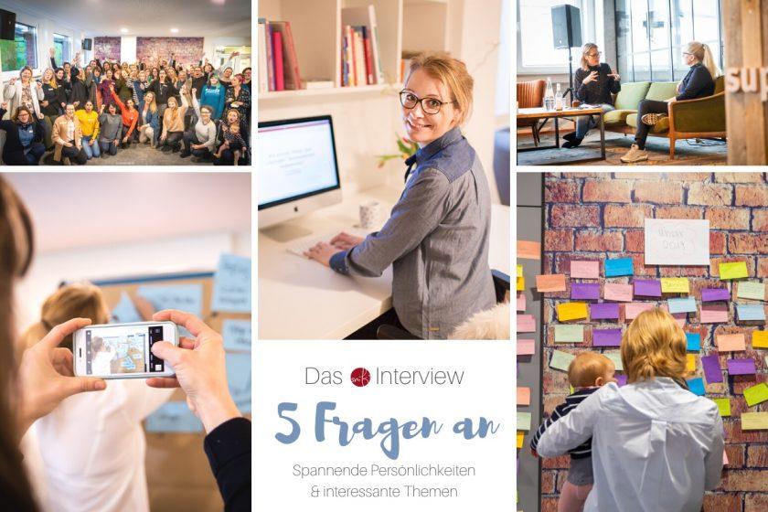 Interview – 5 Fragen an: Stefanie Gundel @gründermütter über das Netzwerken mit Frauen