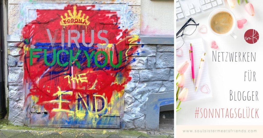 Netzwerken beim #sonntagsglück: Fuck you Corona!