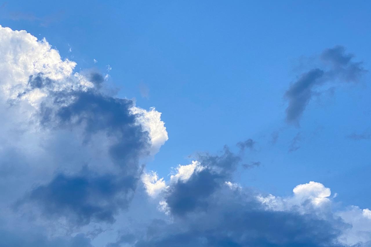 Netzwerken beim #sonntagsglück No. 34: Skyview - heute mal himmelblau