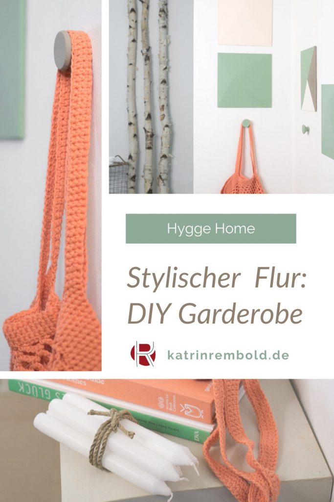Hygge Home: eine DIY Garderobe für den Flur