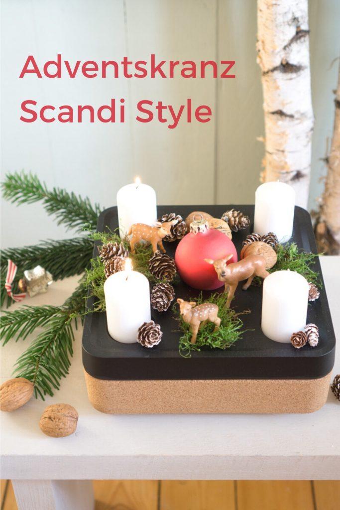 Hygge Home: Adventskranz im Scandi-Style