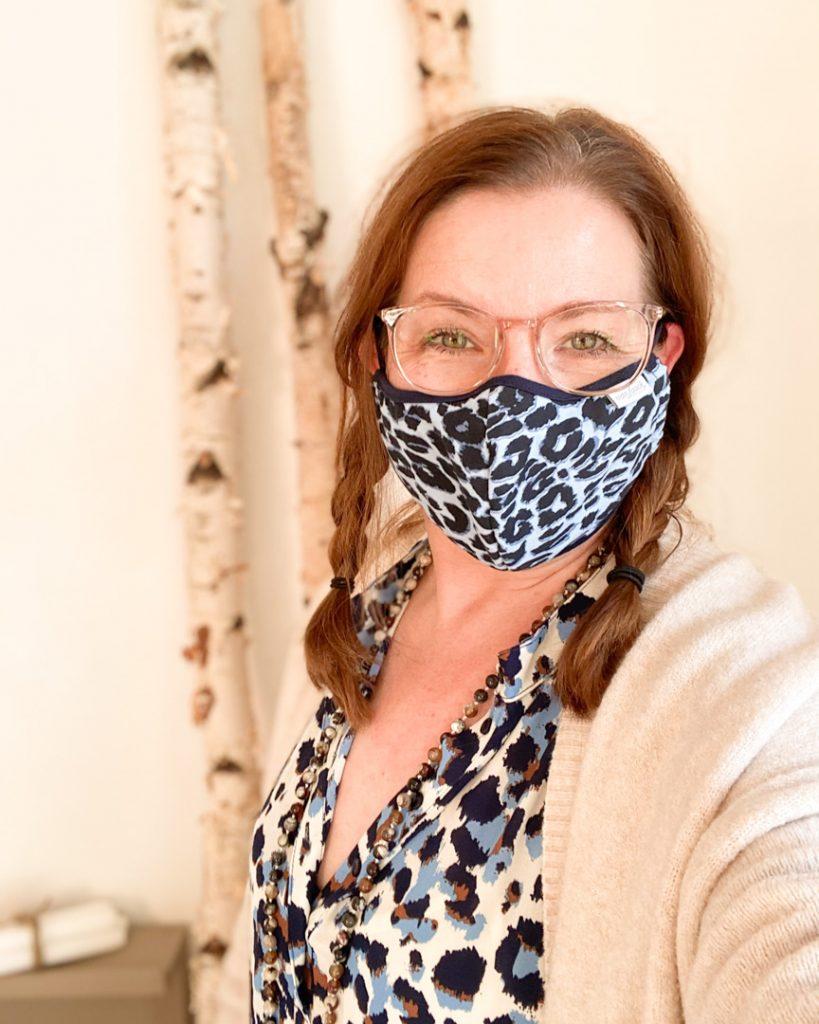 Mut zur Maske am #maskenmittwoch auf Social Media mit Katrin Rembold