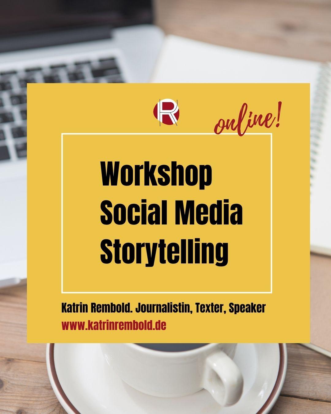 Online Workshop Social Media Storytelling