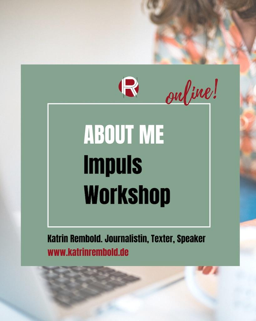 online workshop about me