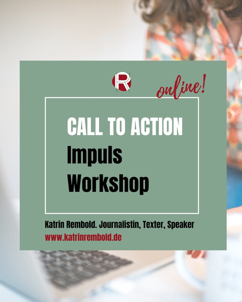 online Workshop Call to action